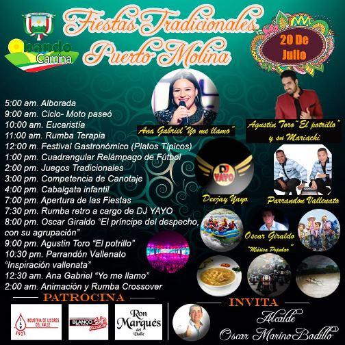 Puerto Molina celebra sus tradicionales fiestas