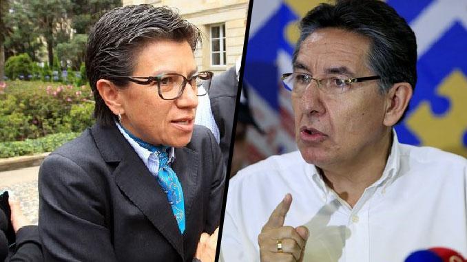 """El Fiscal me dijo en la cara que me va a quitar la impunidad que, según él,  he gozado"": Claudia López"