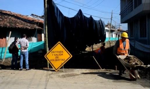 Obras de pavimento en obando serán entregadas en diciembre