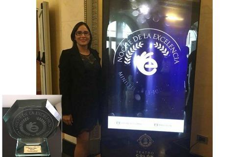 Docente cartagüeña fue premiada por el Ministerio de Educación Nacional