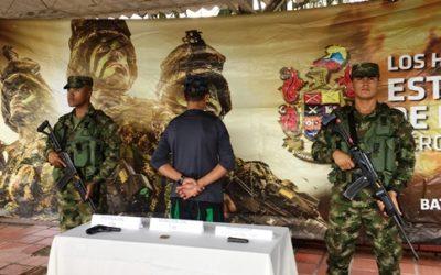Se desmovilizó un guerrillero del ELN en Chocó