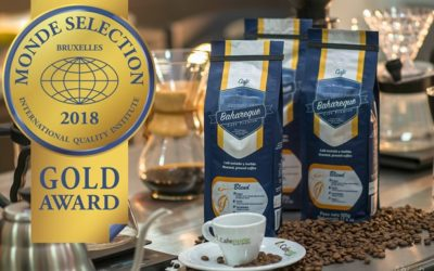 Café Bahareque gana el premio Medalla de Oro Monde Selection