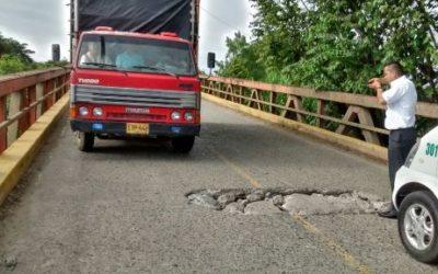 Puentes de La Victoria, Roldanillo y Zarzal con graves daños estructurales