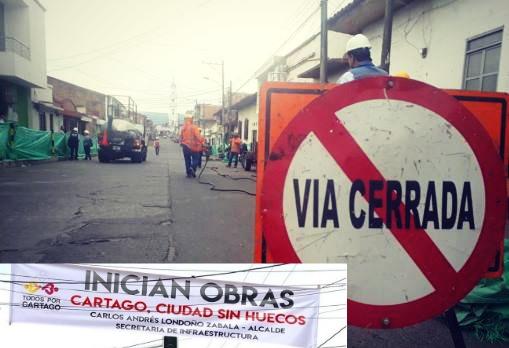 Inicia la segunda etapa del programa 'Cartago ciudad sin huecos'