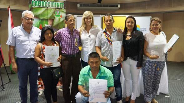 Gobernadora realizó reconocimiento a los caficultores de Cafioccidente
