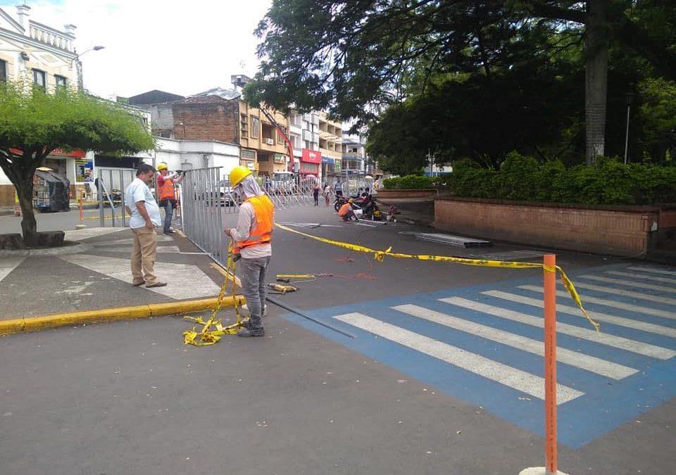 Vigente restricción de circulación de motos en el Parque Bolívar